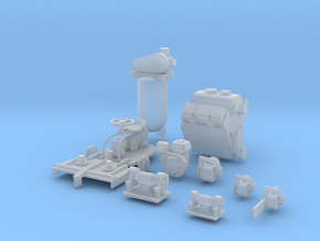 Lipasek Small Engines 1-87 Redux in Frosted Ultra Detail