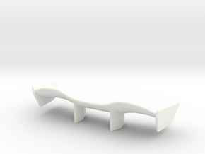 V1 Racer Wing 2.5 in White Strong & Flexible Polished