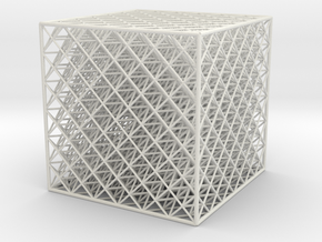 Octet2 Cube 666 Bin in White Strong & Flexible