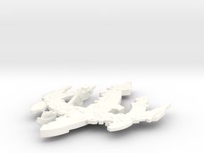 Breen Type V Frigate in White Strong & Flexible Polished