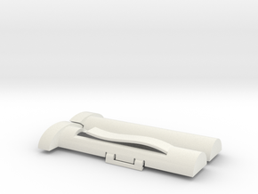 SYRINGE CASE SOLID WALLS in White Strong & Flexible