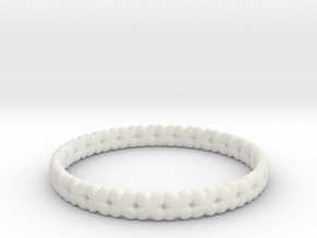Clover Bracelet A in White Strong & Flexible