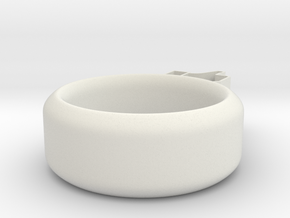 Fun Ring *Like* in White Strong & Flexible