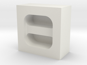 Cord Holder Mold in White Strong & Flexible