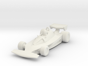 Ferrari 312T2 HO scale in White Strong & Flexible