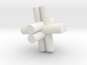 Rod Puzzel in White Strong & Flexible