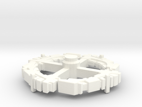 Station Ring Component in White Strong & Flexible Polished