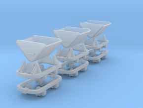 HOn4.5 dummy skips and chassis  in Frosted Ultra Detail