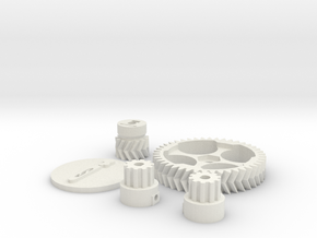 Schlaboratory Complete Gear Kit in White Strong & Flexible