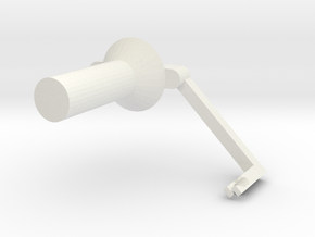 PrintrbotSpoolHolder in White Strong & Flexible