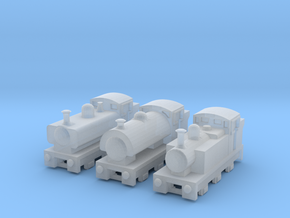 T-gauge Mix Tank Engines - Uses Eishindo Wheels in Frosted Ultra Detail