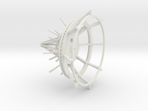 Tower Cage in White Strong & Flexible