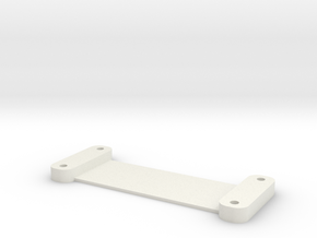DSLR_hdmi_plate in White Strong & Flexible