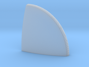 Apollo CM Heat Shield 2 in Frosted Ultra Detail