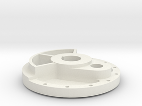 Climax Crank Disk - 1-8th Scale in White Strong & Flexible
