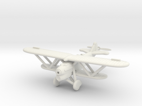 1/100 Fiat CR.32 in White Strong & Flexible