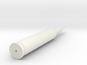 556x45mm-bullet in White Strong & Flexible