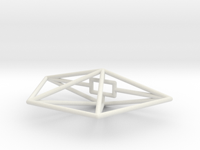 Sidewinder Wireframe 1-300 in White Strong & Flexible