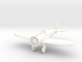 """1/144 Boeing P-26 """"Peashooter"""" in White Strong & Flexible Polished"""