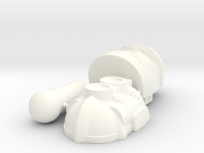 Rhinox Set R in White Strong & Flexible Polished
