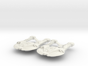Two Steamrunner Class in White Strong & Flexible