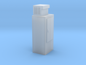HO-Scale Upright Single Door Ice Cooler in Frosted Ultra Detail