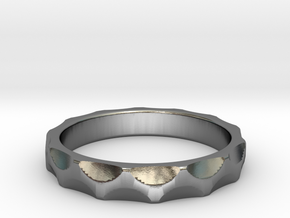 Engineer's Ring - Size 6.5 in Polished Silver
