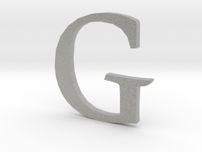 G (letters series) in Metallic Plastic