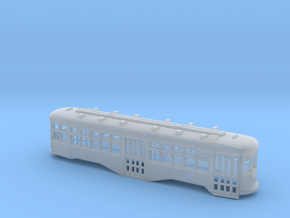 N Scale B&QT 8000-series Trolley Body in Frosted Ultra Detail