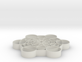 Phi Circles - 2 inch in White Strong & Flexible