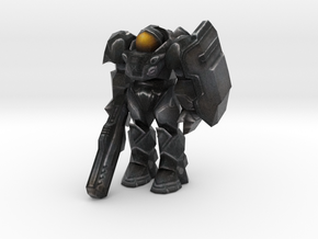 SC2 - Terran Marine in Full Color Sandstone