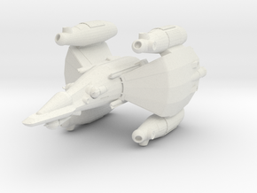 Gunstar - Starfighter in White Strong & Flexible