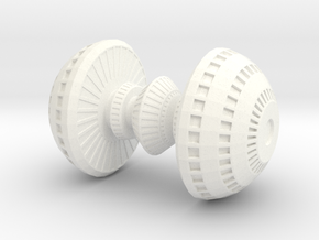 Corus Station DS23 in White Strong & Flexible Polished