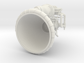 F1 3D Engine Top--1:32 in White Strong & Flexible