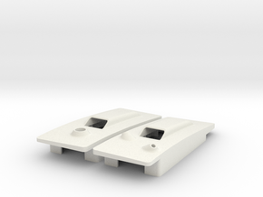 RVJET pocket hatches w. antenna interface in White Strong & Flexible