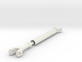 1/10 Scale Rear Drive Shaft in White Strong & Flexible