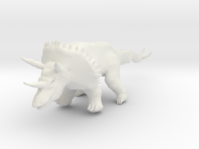 triceratops_07 in White Strong & Flexible