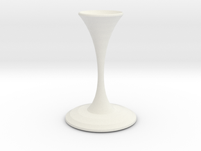 valentino vase  in White Strong & Flexible
