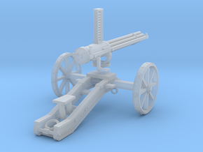 Gatling Gun in Frosted Ultra Detail