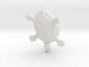 Turtle in White Strong & Flexible