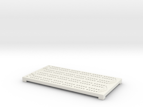 Small Cribbage Board in White Strong & Flexible