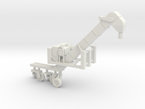 1/50 Conveyor Loader-Unloader (Transloader) in White Strong & Flexible