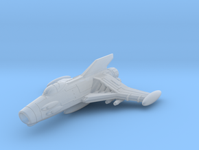 EDSF Cosmo Sabre Class Fighter 1/270 in Frosted Ultra Detail