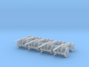 1/220 de Bange cannon 155mm - transported x4  in Frosted Ultra Detail