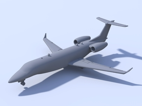 1:200 - Embrear Legacy 600 (L) in Frosted Ultra Detail