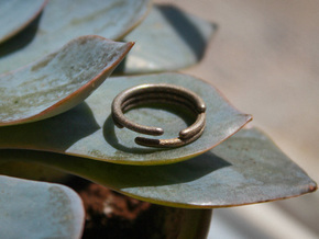 Stagger Ring - Size 6.5 in Stainless Steel