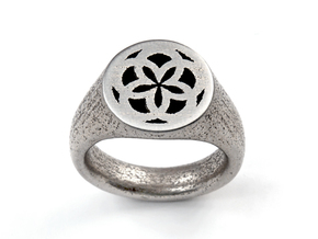 Ornament Ring in Stainless Steel