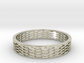 Chained (Size 7) in 14k White Gold