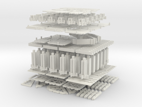 Printable Architectural Kit Series 2 in White Strong & Flexible