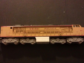 GE Gas Turbine Battery Box - (N Scale) 1:160 in Frosted Ultra Detail